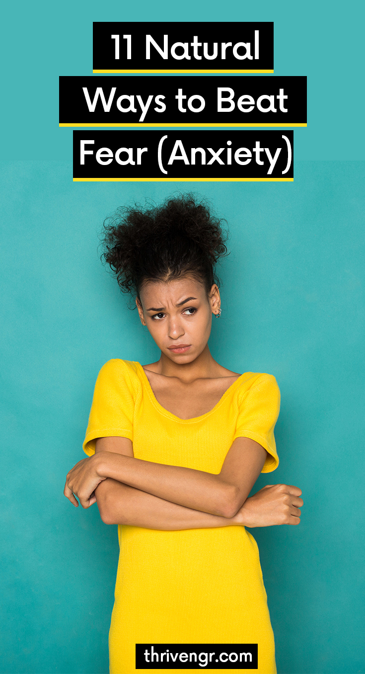 Breathe through panic and take time out to beat anxiety