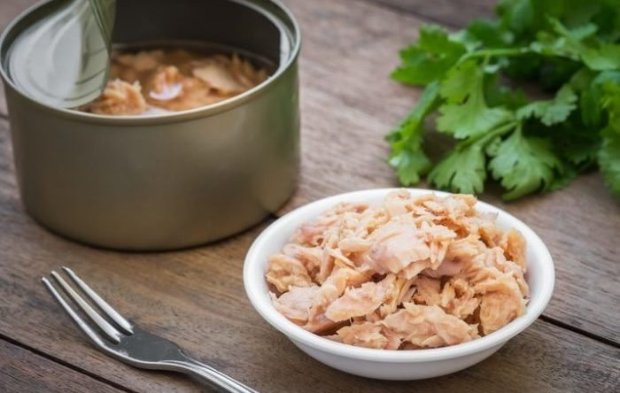 Canned tuna meal