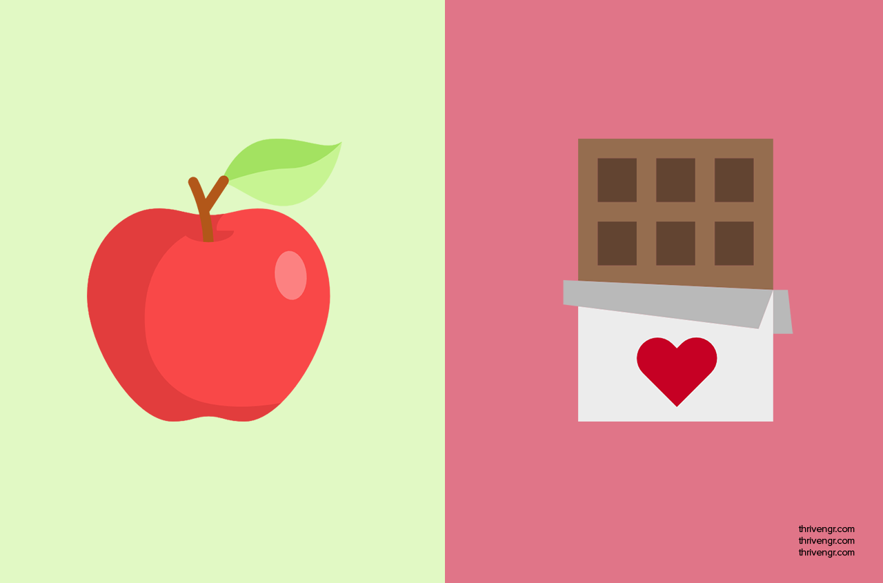 Dark Chocolate + Apples