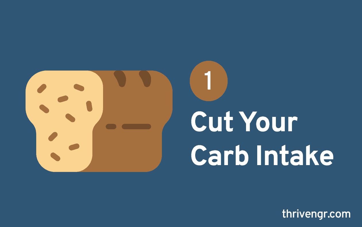 Cut Your Carb Intake