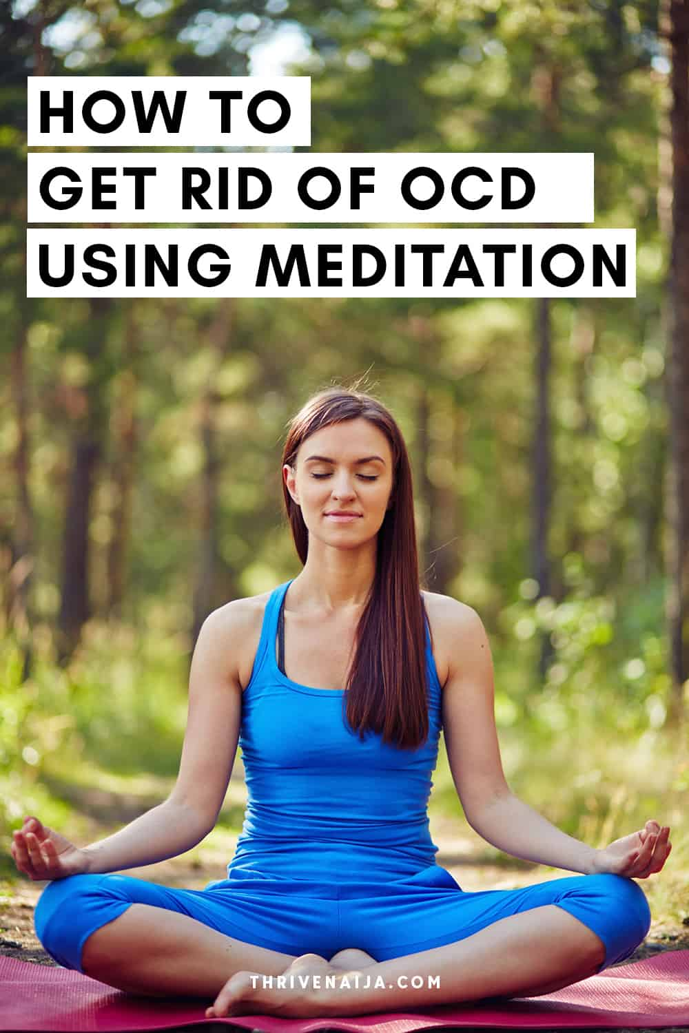how to use meditation for OCD