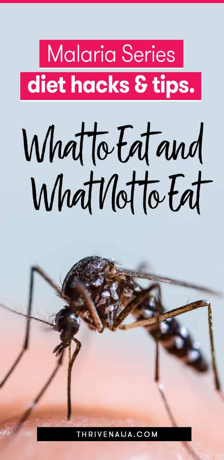 malaria series diet