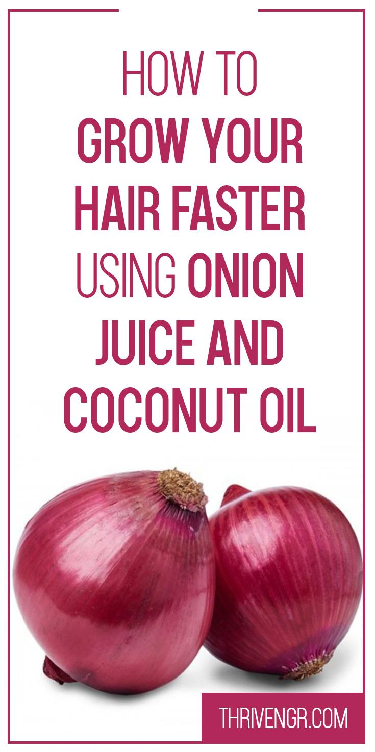 Onion & CoconutOil Mixture