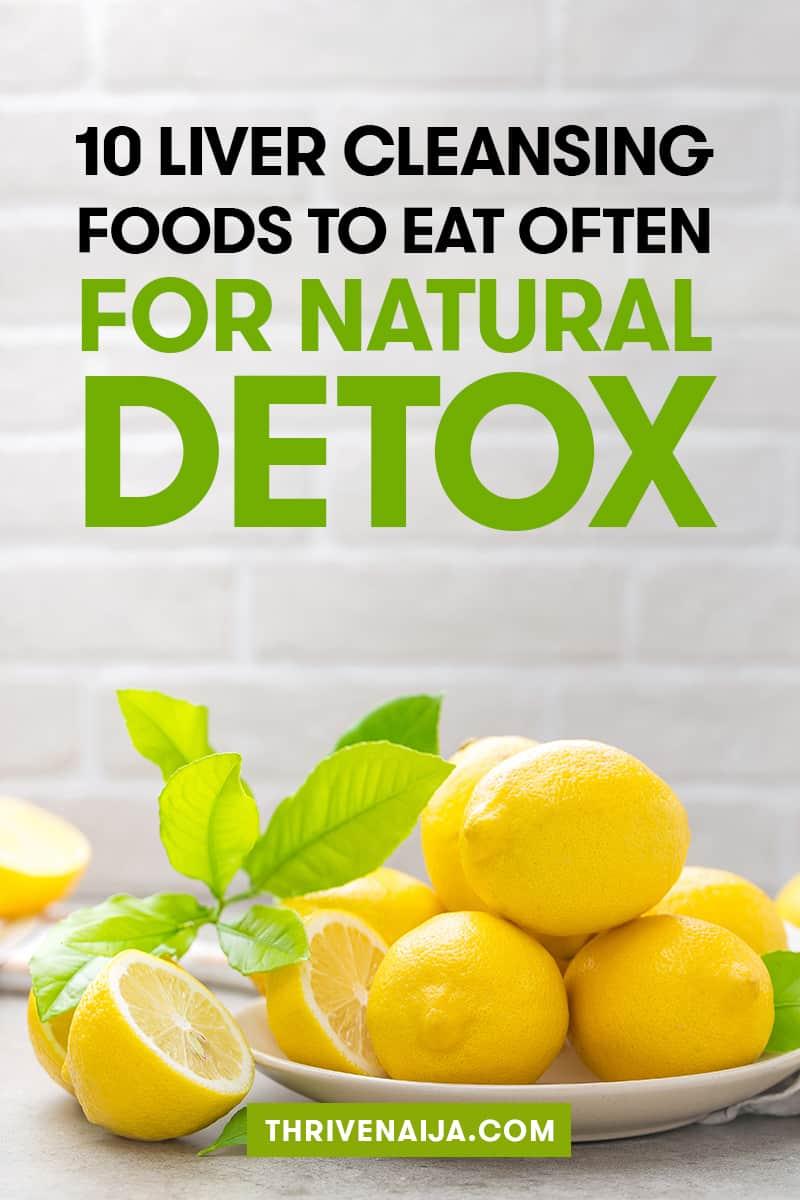 Liver cleansing foods you should eat often
