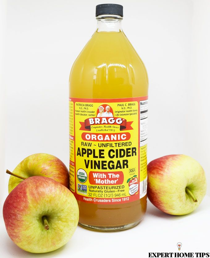 apple cider vinegar home remedy