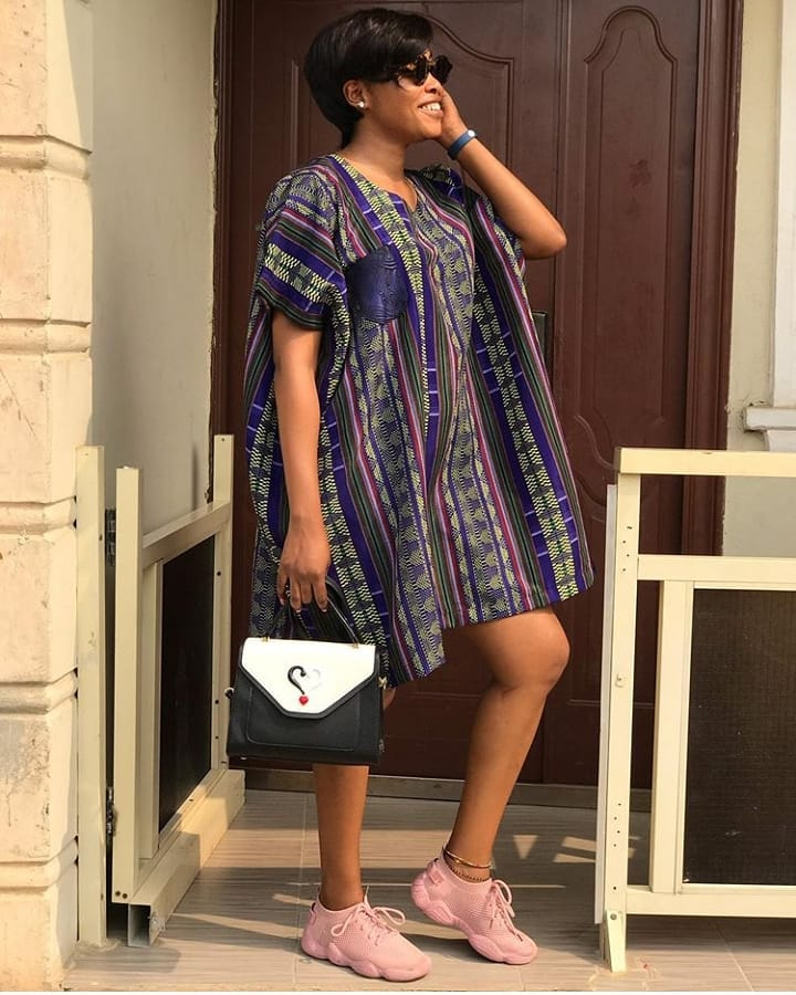 agbada short gown