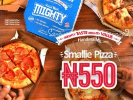 dominos smallie pizza launch