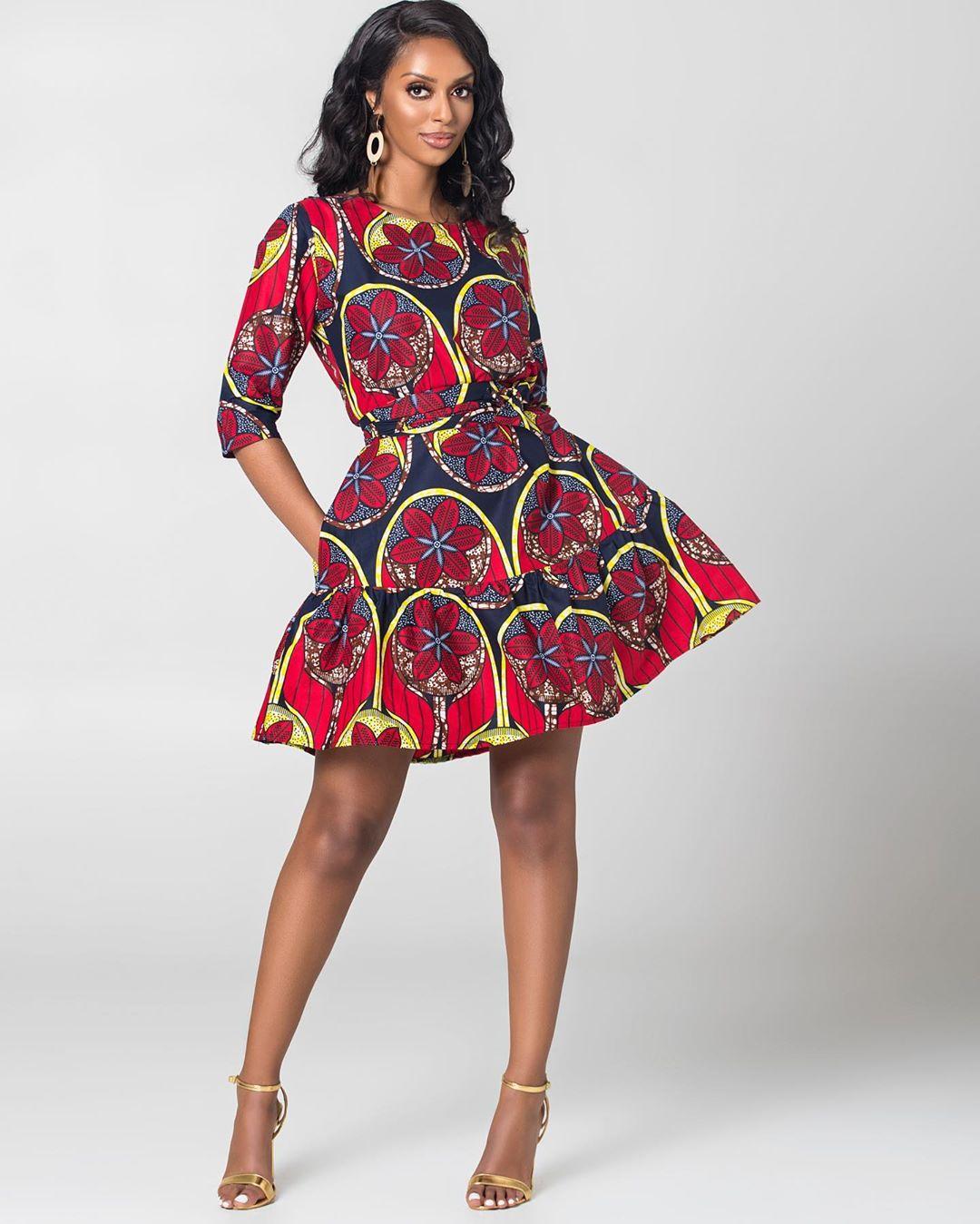 short ankara gown styles ideas the theresa dress