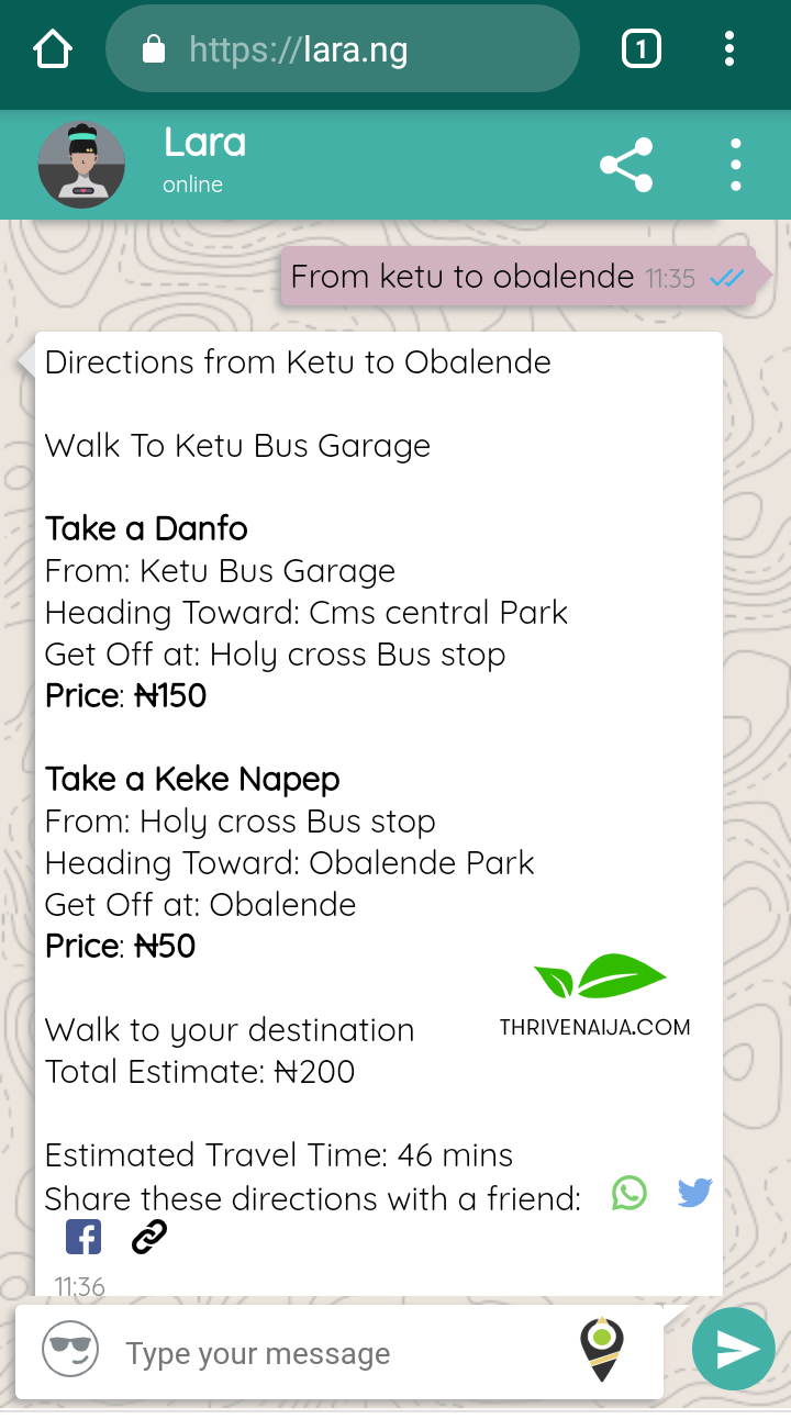 How to Use Lara.ng to Find Your Way Around Lagos