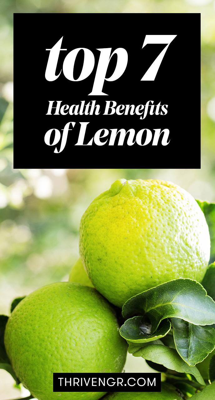 benefits of lemon for the body