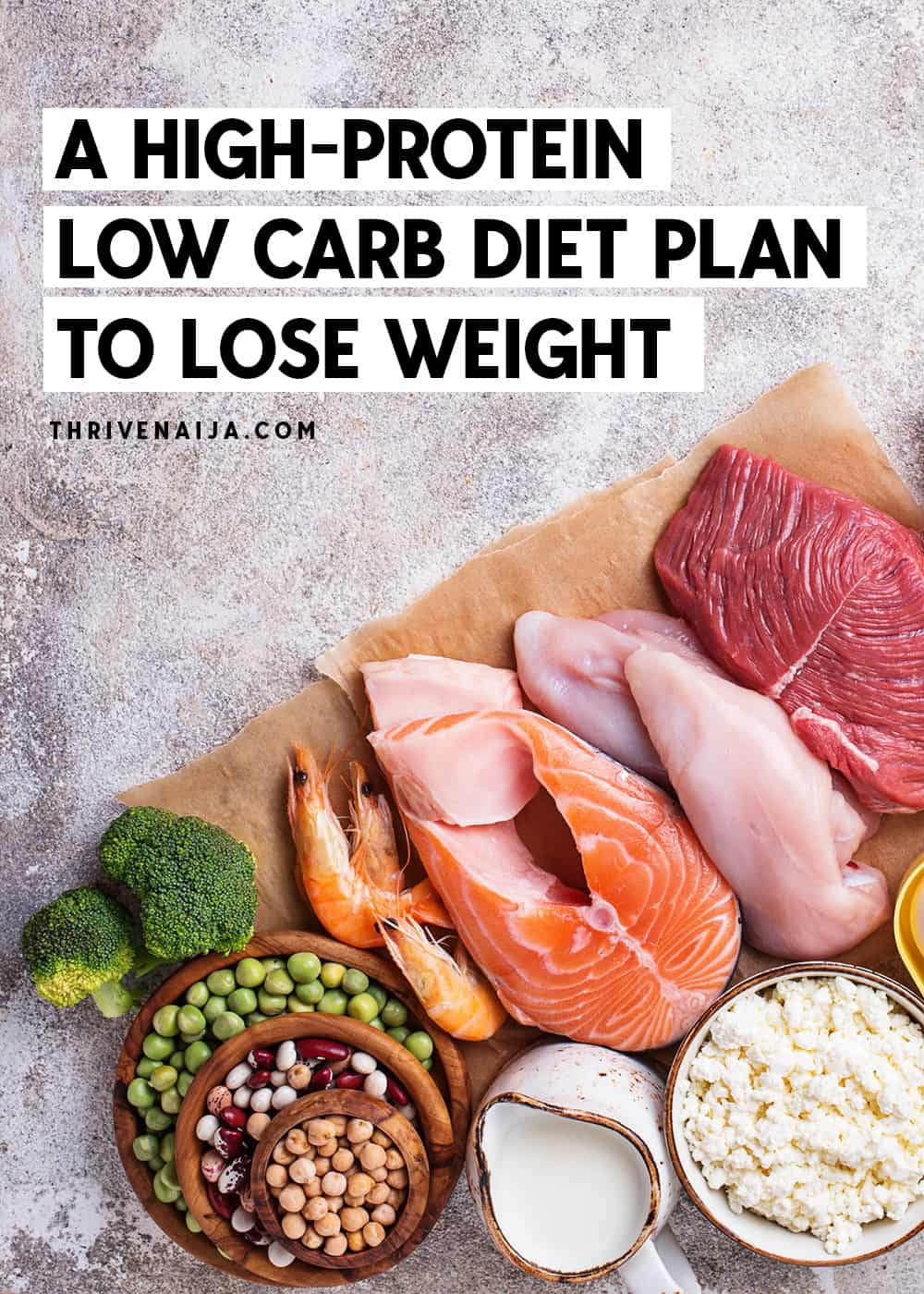 Follow this high protein weight loss guide to lose weight the healthy way