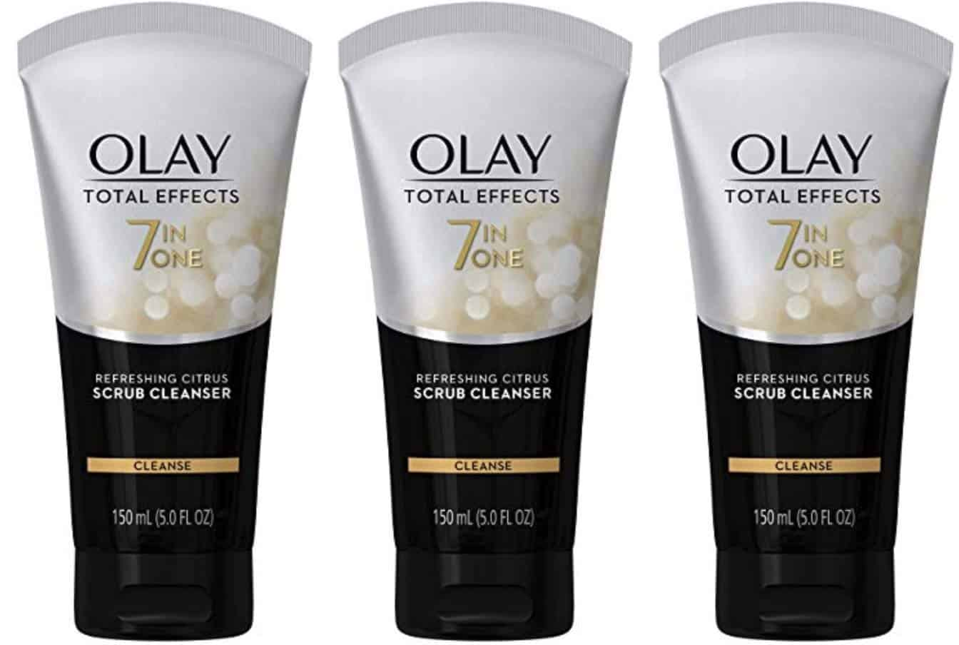 Olay Total 7-In-1 Antiageing foaming face wash cleanser