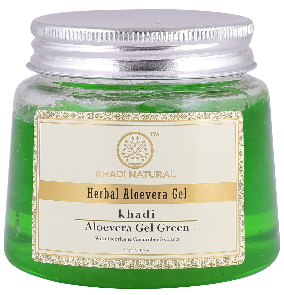 Khadi natural herbal aloe vera cream