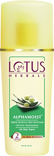 Lotus Herbal Alpha moist Alpha Hydroxy skin renewal oil-free moisturizer