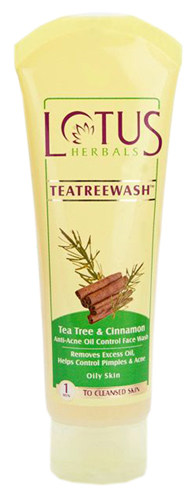Lotus Herbals TeaTreewash- Tea Tree Absolute Oil control Face wash