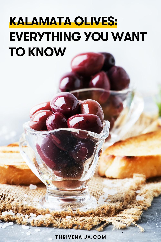 kalamata olives nutrition