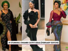 Owambe Outfit Ideas (February Edition)