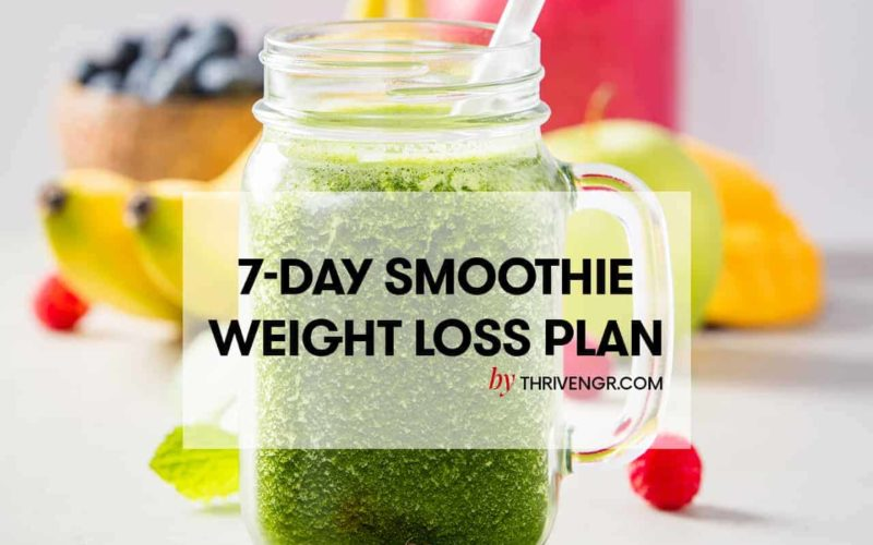 smoothie weight loss diet pan