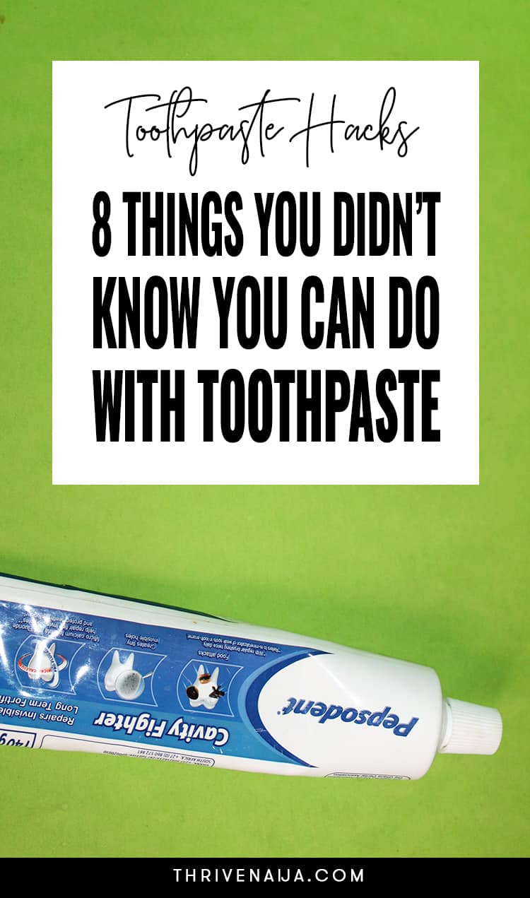 Toothpaste Hacks