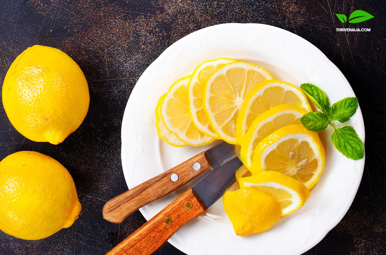 lemons with vitamin c