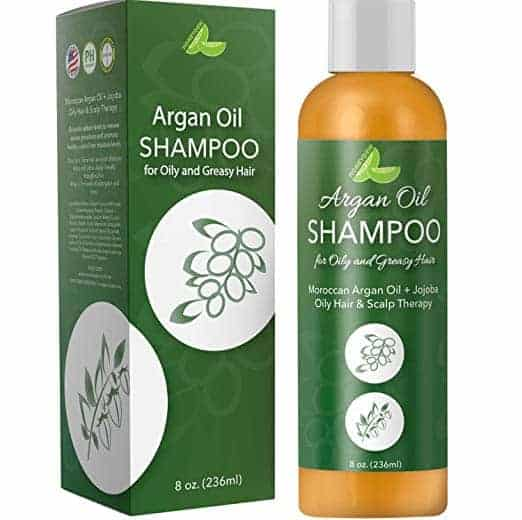 Argan Oil Shampoo for Oily Hair + Scalp