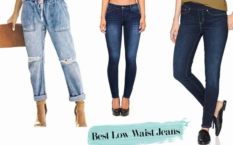 best low waist jeans with great reviews