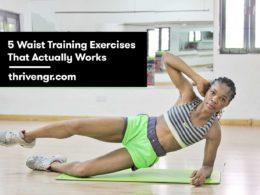 exercises for waist training