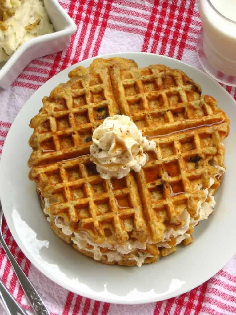 Carrot Cake Waffle Recipe