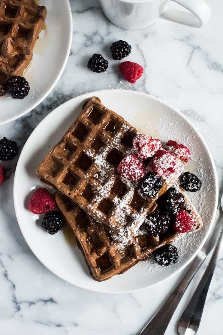 Chocolate Belgian Waffle Recipe