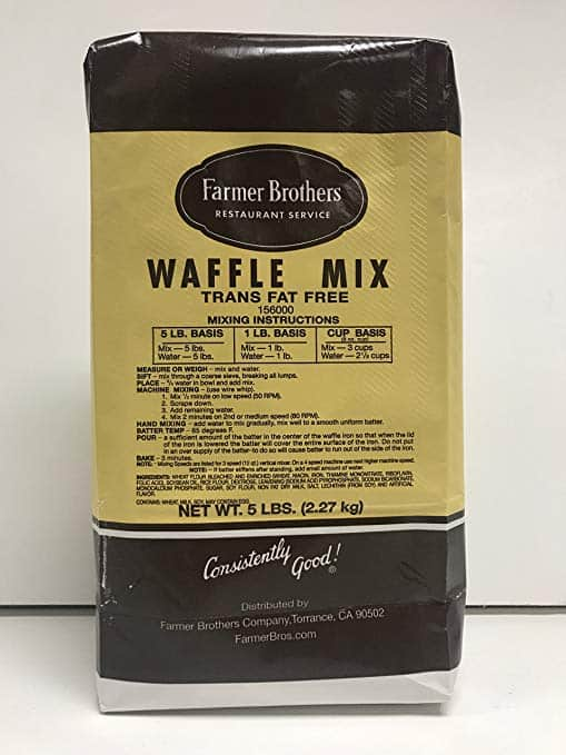 Farmer Brothers Waffle Mix