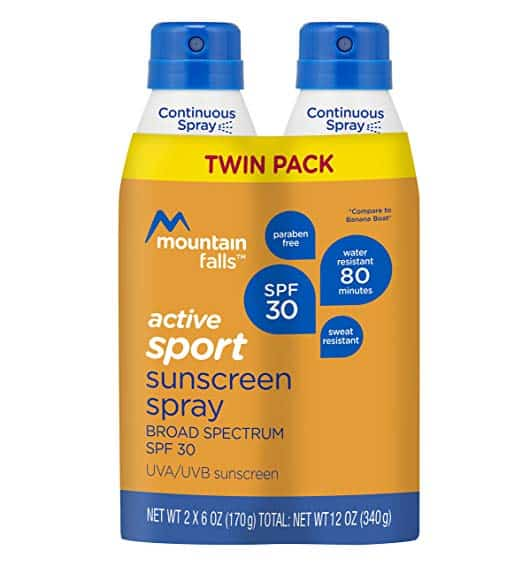 Mountain Falls Active Sport Sunscreen Continuous Spray