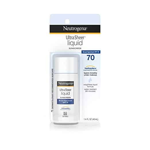 Neutrogena Ultra Sheer Liquid Daily Facial Sunscreen