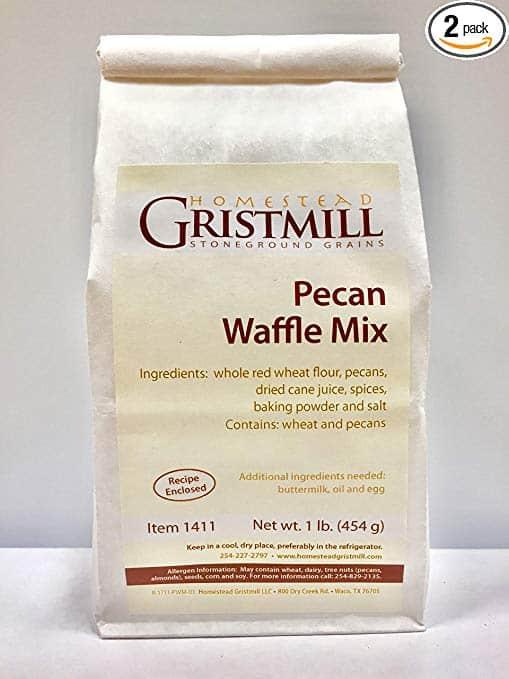 Non-GMO Pecan Waffle Mix