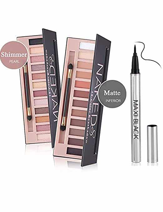 Cosprof 12 Colors Professional Eyeshadow Palette Face Matte