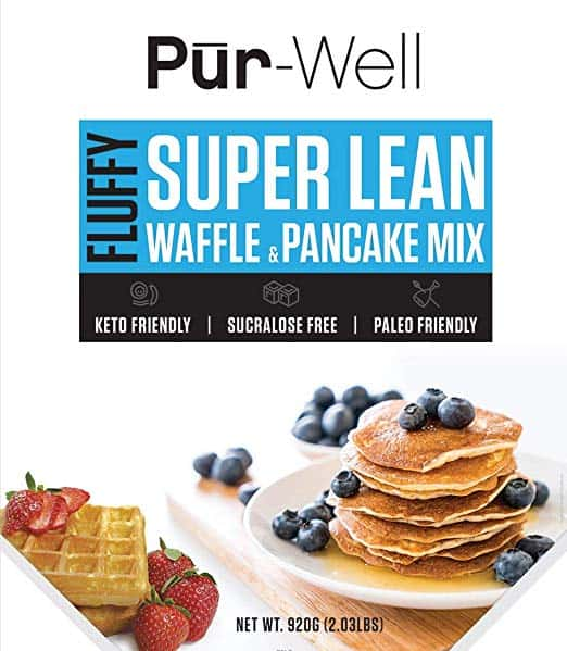 Super Lean Waffle & Pancake Mix Keto Friendly