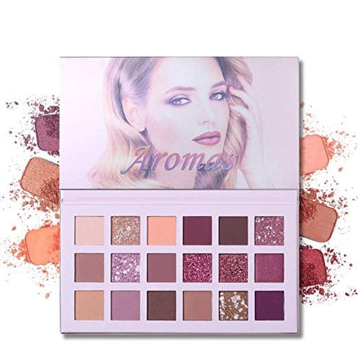UCANBE 18 Colors New Nude Eyeshadow Palette