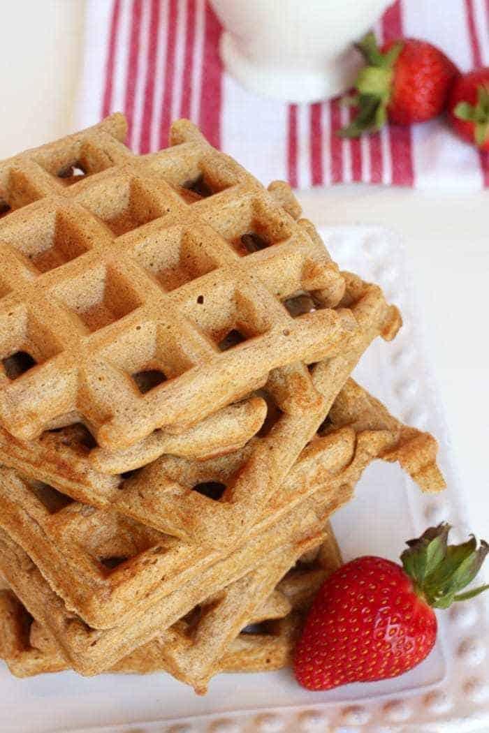 Whole Wheat Belgian Waffle Recipe