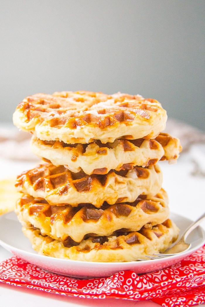 Belgian liege waffle