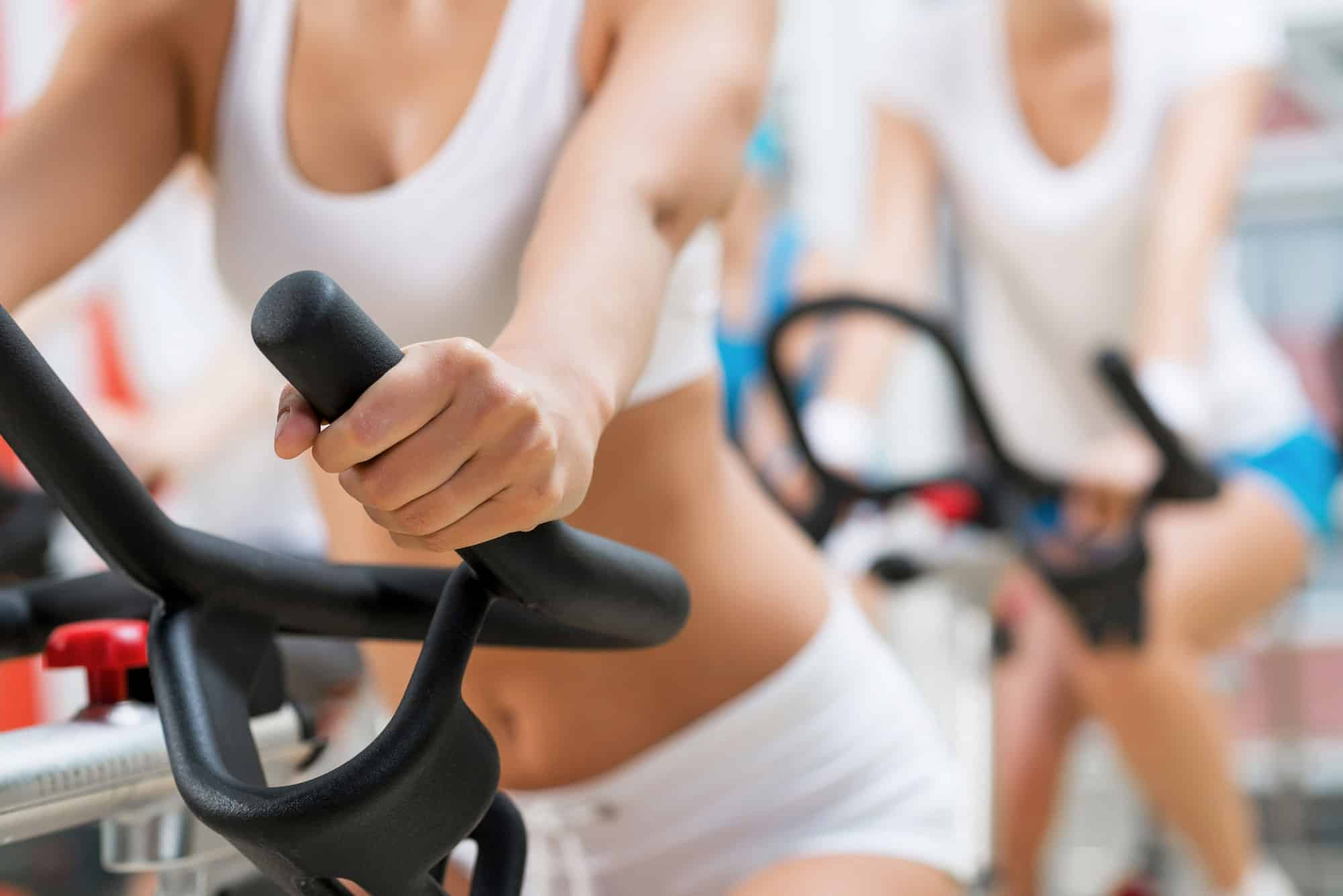 Cycling workout for flat belly