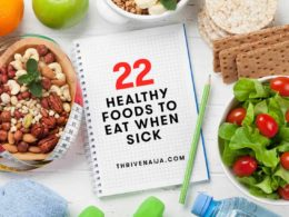 healthy foods to eat when sick