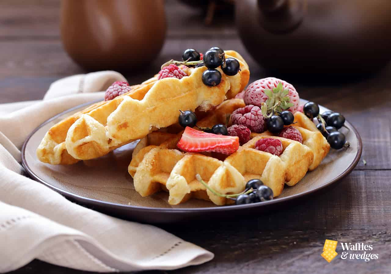 waffle ingredients and recipe