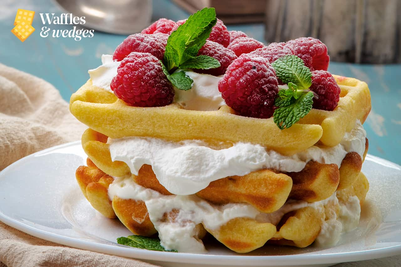 waffle toppings with berries, waffle recipes