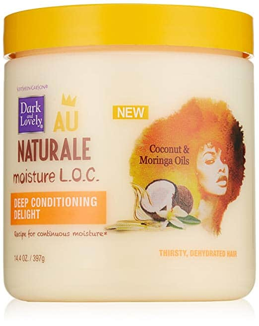 SoftSheen-Carson Dark and Lovely Au Naturale Moisture L.O.C. Deep Conditioning Delight