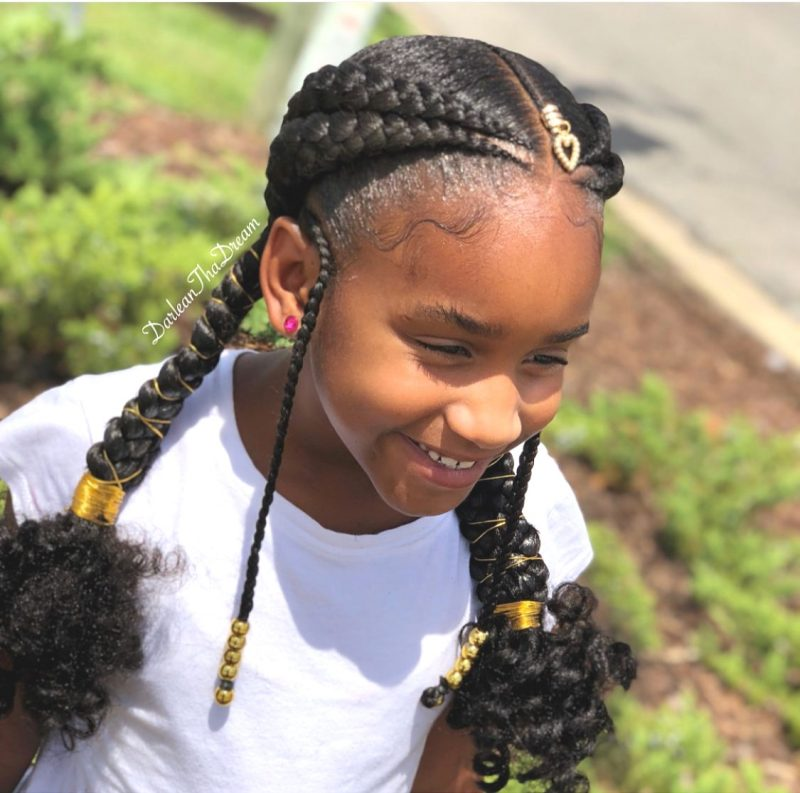 braids on kids