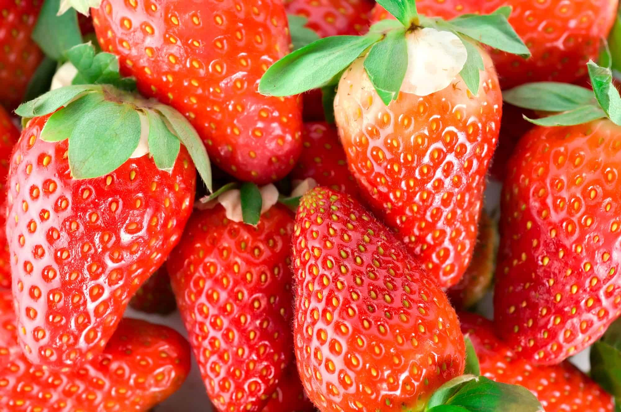 Mouthwatering strawberries