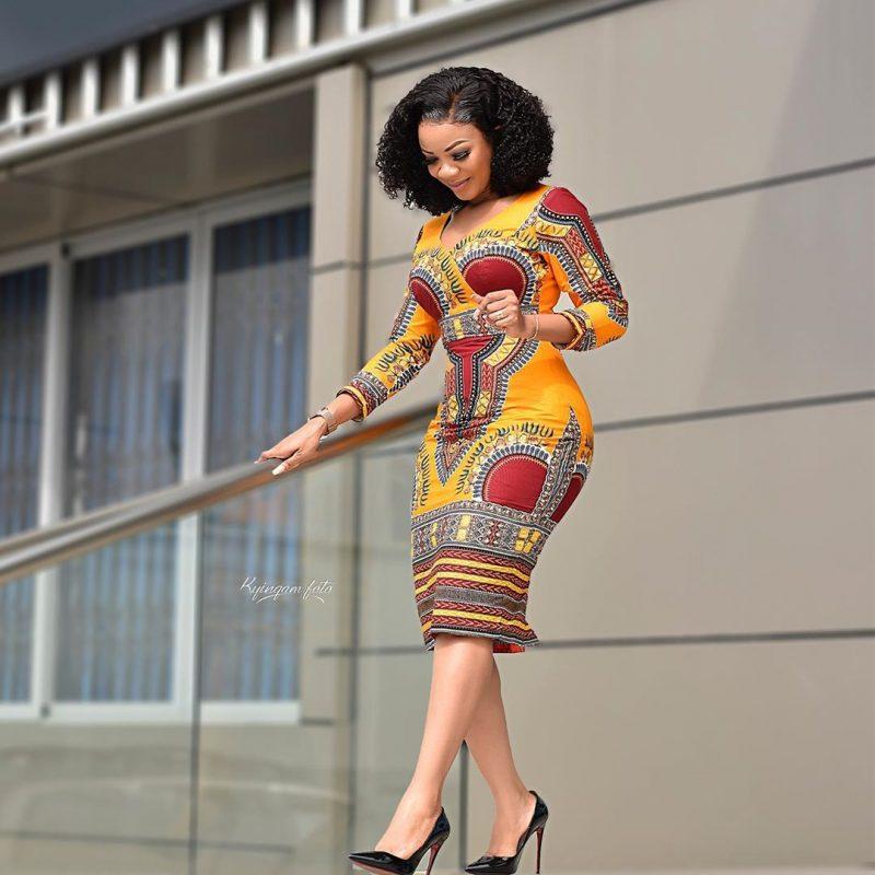 Serwaa Amihere work outfit