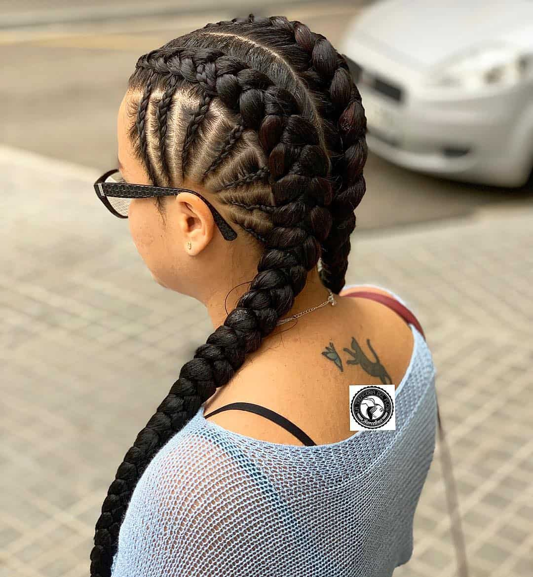 18 Pictures That Proves Braids On White Girls Looks ...