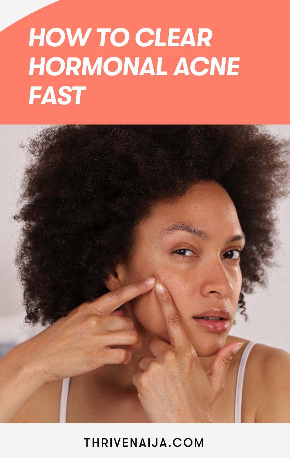 How to clear hormonal acne fast