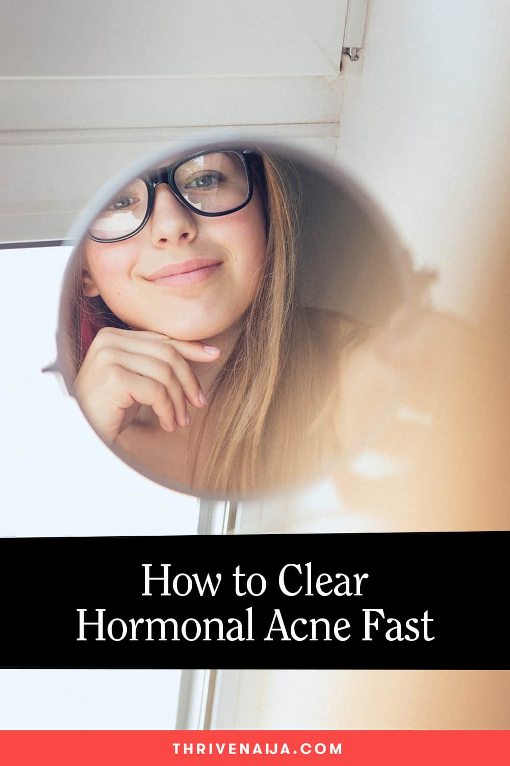 How to clear hormonal acne fast #skincare