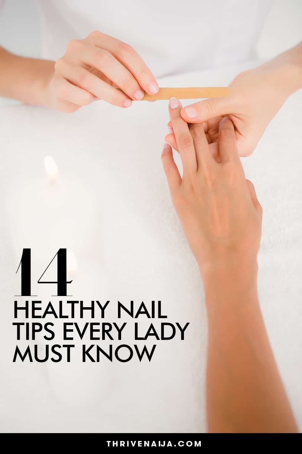 healthy nail tips for ladies